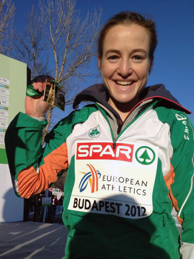 Britton with Team and Individual Euro Cross Gold
