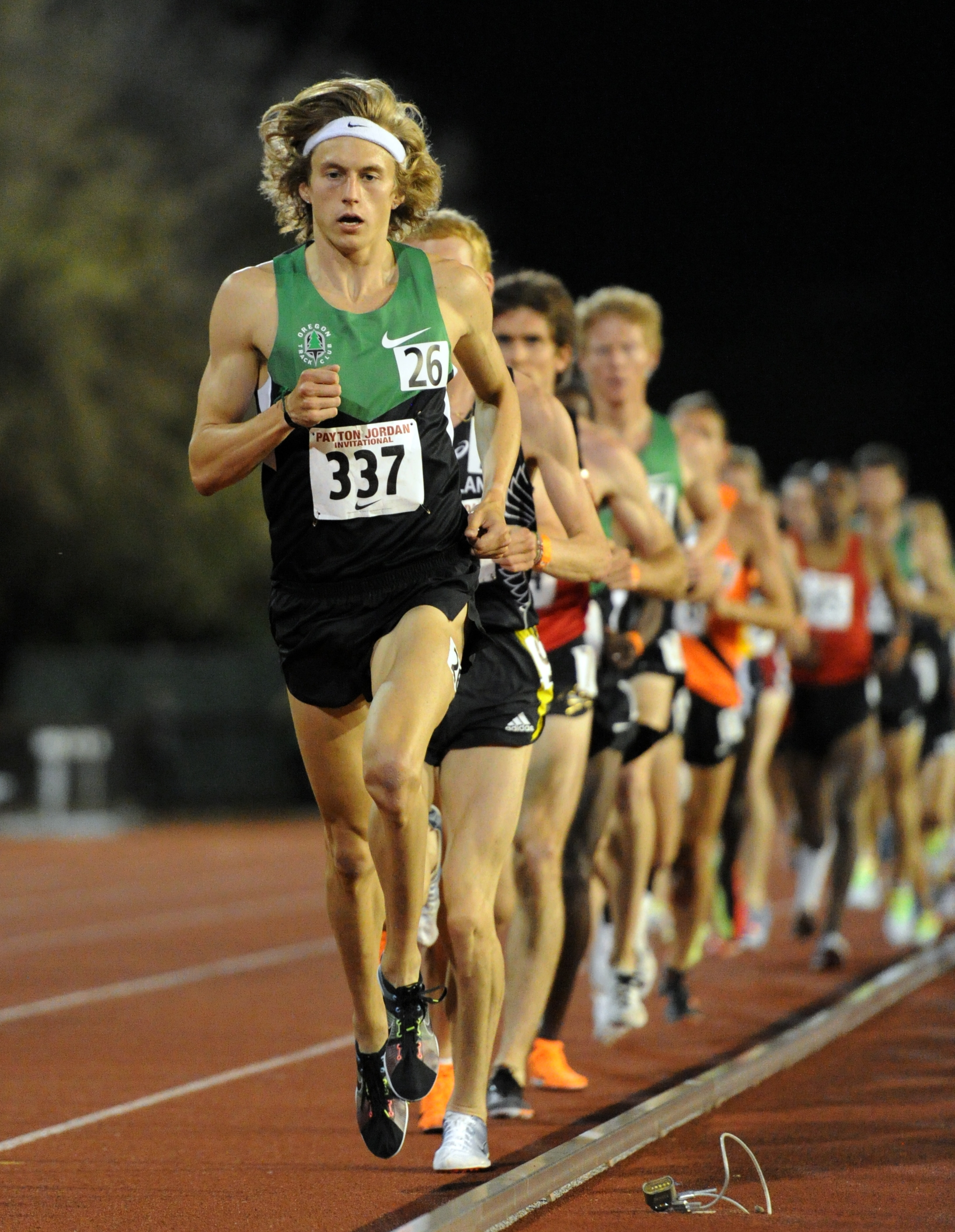 Jager Pacing at Stanford 2012