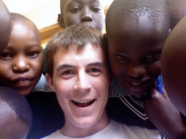 Norton in Kenya with Kids