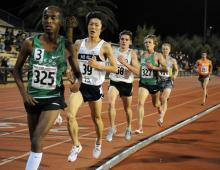 Bairu Quigley and Nelson in 2009 Stanford 10k