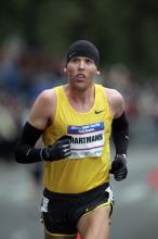 Jason Hartmann finished 10th at the US Olympic Trials Marathon (Photo by Victah Sailer)