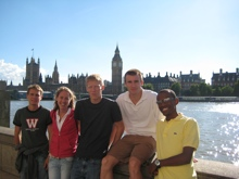 Nelson, Sikes, Tegenkamp, Solinsky, and Bairu in London