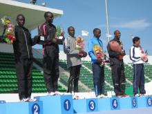 Charles Kibiwott, 2nd Place