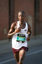Ben Maiyo finished 5th in the 2007 Chicago Marathon (Photo by Victah Sailer)