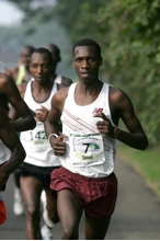 Ndirangu at the Falmouth Road Race