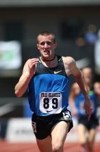 Chris Solinsky at the 2008 Prefontaine Classic.