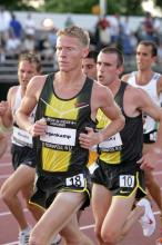 Solinsky trails Tegenkamp at the US Outdoor Champs (Victah Sailer)